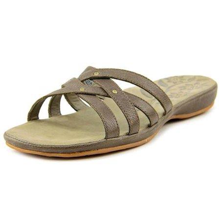 Keen City of Palms Slide Women US 8 Brown Slides Sandal