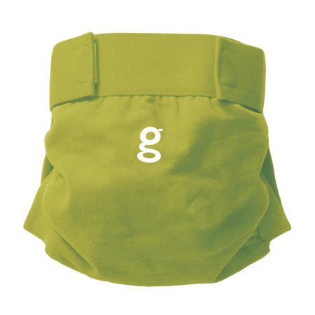 gDiapers gPants Large Guppy Green Reusable Diaper Cover, 22-36 lbs