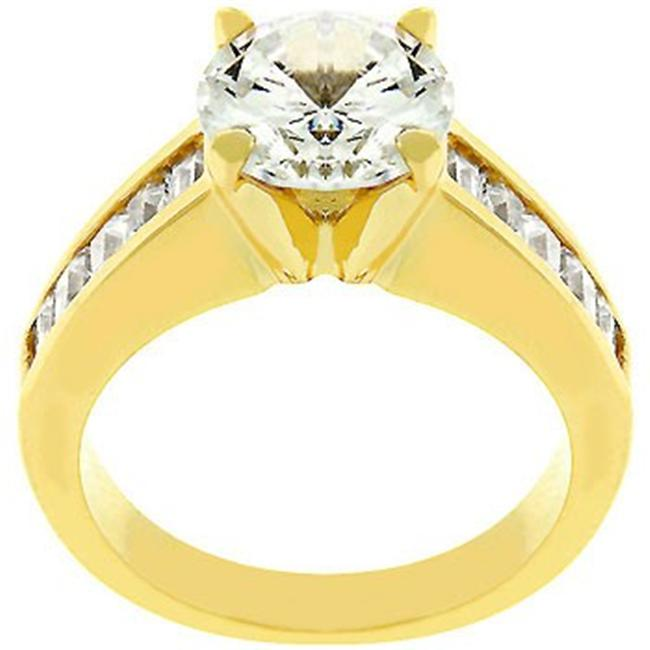 For Her Anniversary Ring In Gold- Size- 10