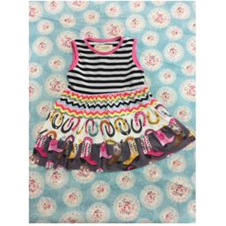 Carnival Dresses Ideas (Carnival Print Multi-Color Girls Dress)