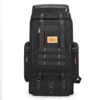 US 80L Waterproof Military Tactical Backpack Outdoor Climbing Camping Travel Bag