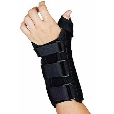 Comfort Foam Wrist Splint With Thumb Abduction Brace  (Small   Left)