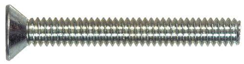 15-Pack The Hillman Group 43663 M4-0.70 x 35 Metric Flat Head Phillips Machine Screw