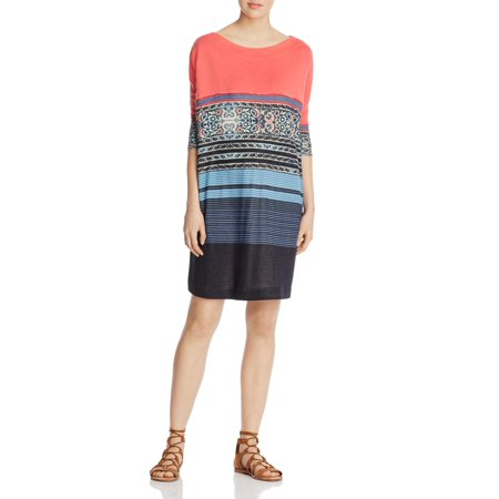Free People Steppin Out Printed Shift Dress