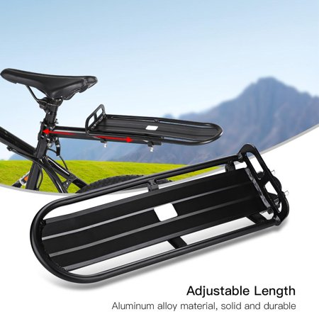 LYUMO Aluminum Alloy Bicycle Rear Seat Luggage Shelf Adjustable Mountain Bike Carrier Bracket Rack Weapon R Seat Brackets