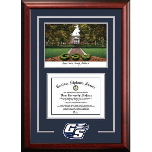 "Georgia Southern 12"" x 15"" Spirit Graduate Diploma Frame"