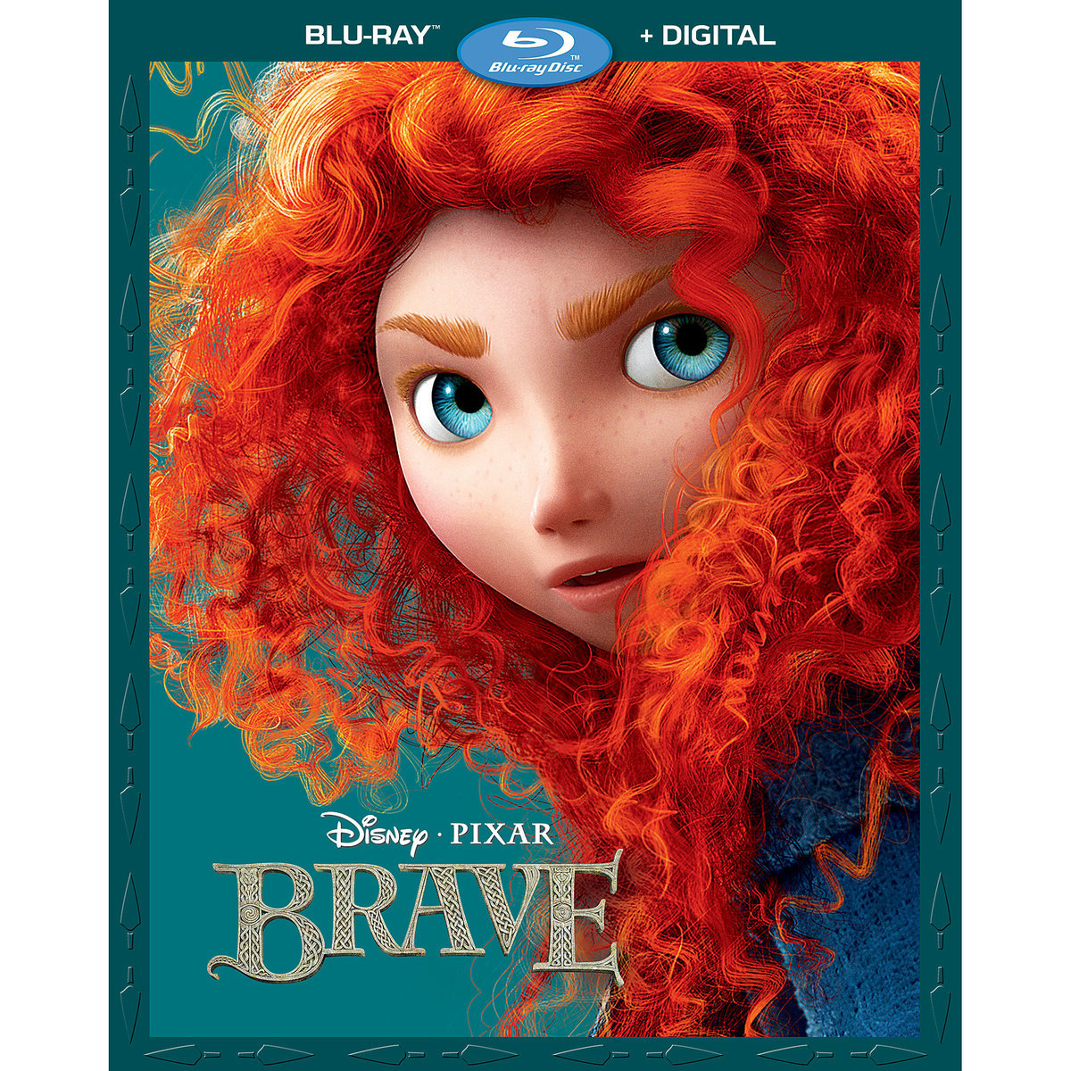 Brave (Blu-ray + Digital) by Buena Vista