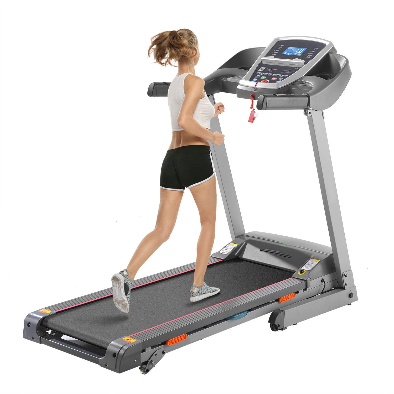 3.0hp Electric Folding Treadmill Health Fitness Training ...