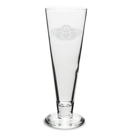 Claddagh Ring Logo 16 oz Classic Beer Pilsner Angels 16 Ounce Pilsner