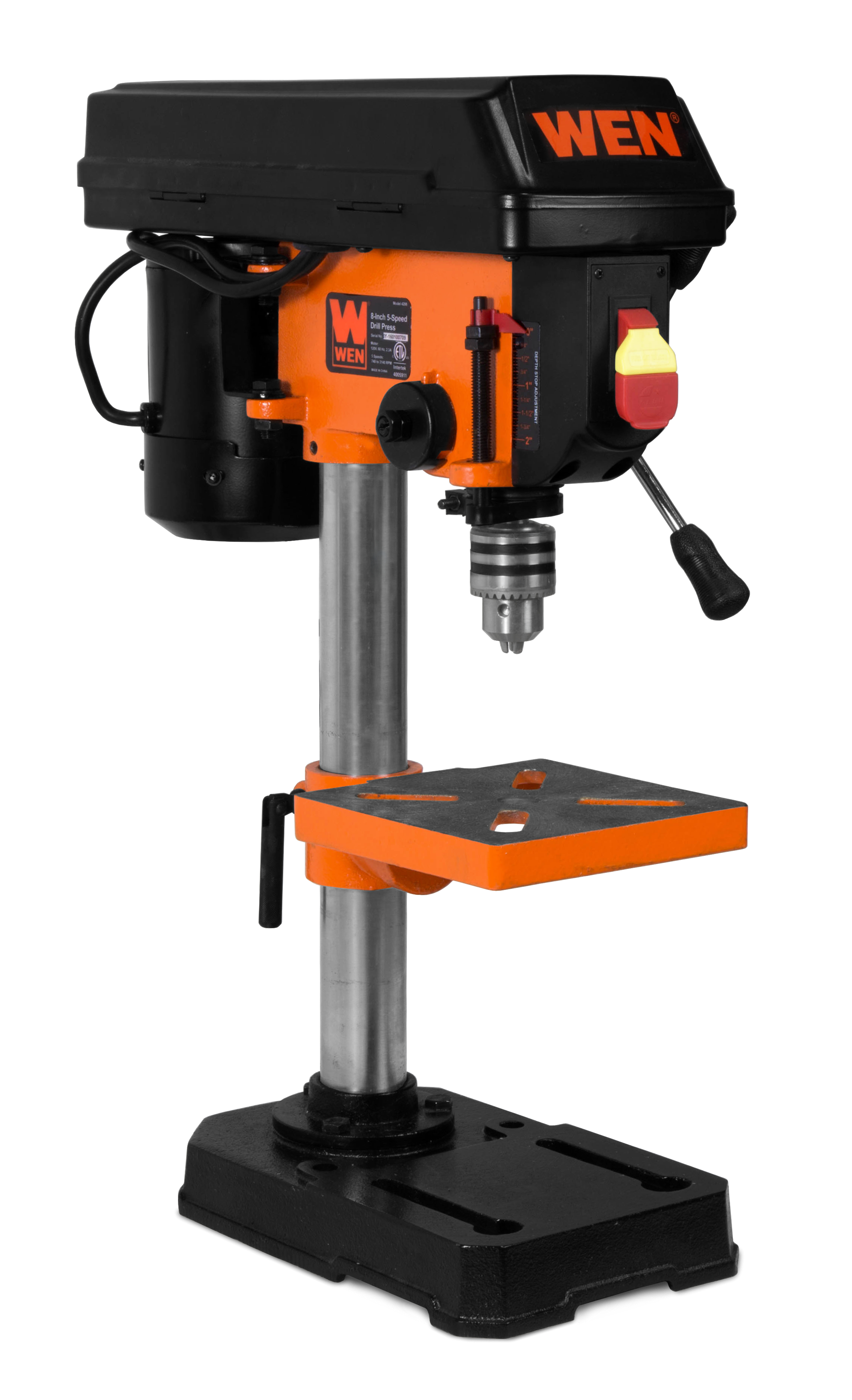 Wen 8 Inch 5 Speed Drill Press 4208 Walmartcom