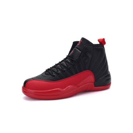 b6d7c6e1241f Meigar - Mens High Top Sneakers Shoes Hidden Heel Trainer Boots Athletic  Basketball Shoes - Walmart.com