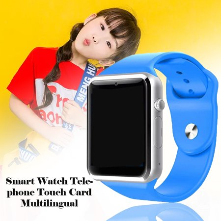 Representing My Technology Multi-language Smart Watch Phone Touch Card Watch - image 4 of 6