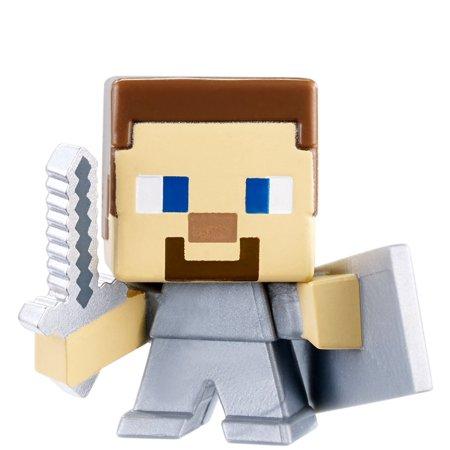 Minecraft End Stone Series 6 Steve with Sword & Shield Mini Figure ()