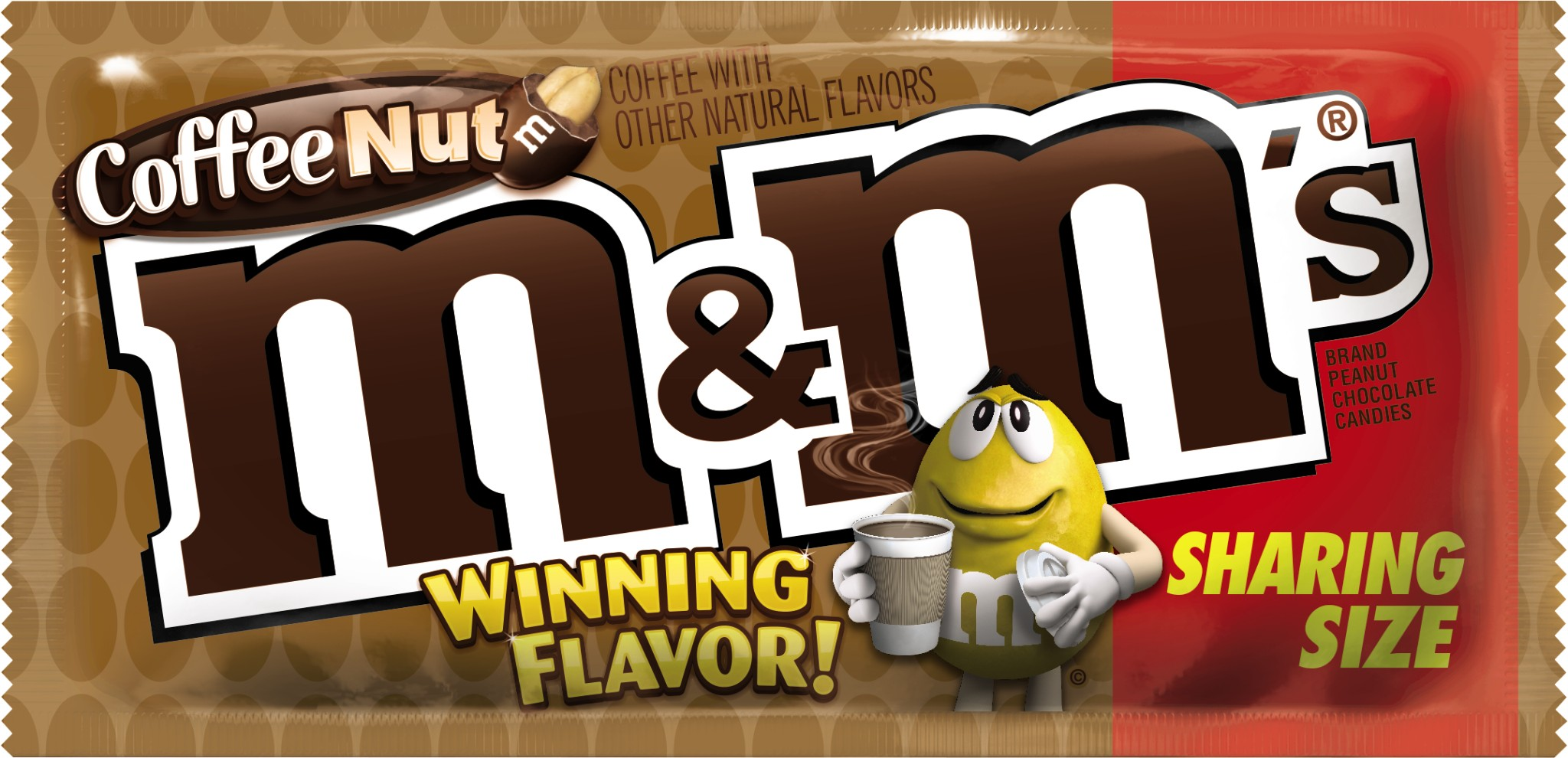 M&M'S Coffee Nut Chocolate Candy, 3.27-Ounce