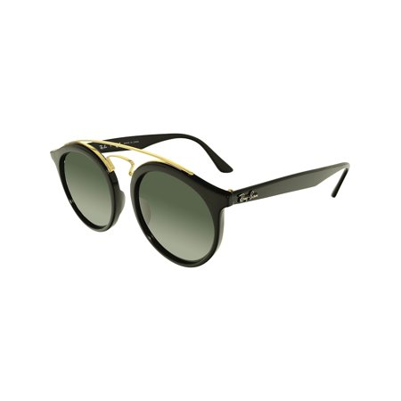 2a21e365cc8f82 Ray-Ban Gatsby RB4256-601 71-49 Black Round Sunglasses - image ...