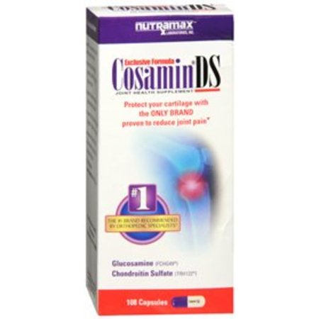 Joint Health Supplement Cosamin® DS 105 mg / 1 mg Strength Capsule 100 per