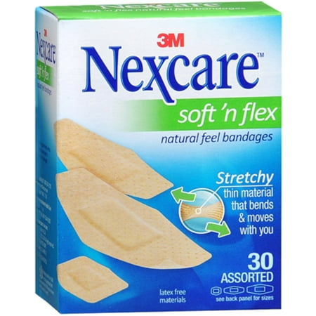 4 Pack - Nexcare Comfort Fabric Bandages Assorted 30 Each ()