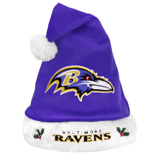 Forever Collectibles NFL Santa Hat