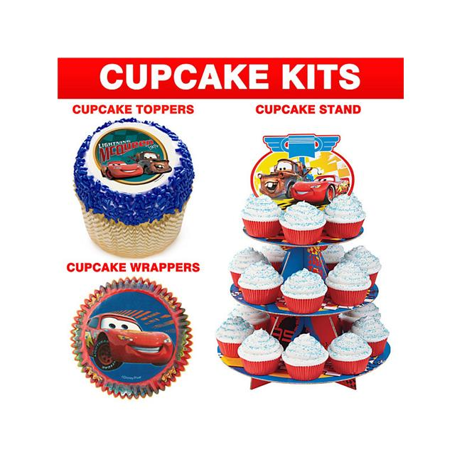 Costume Supercenter BBKITCC12 Disney Cars Cupcake Kit