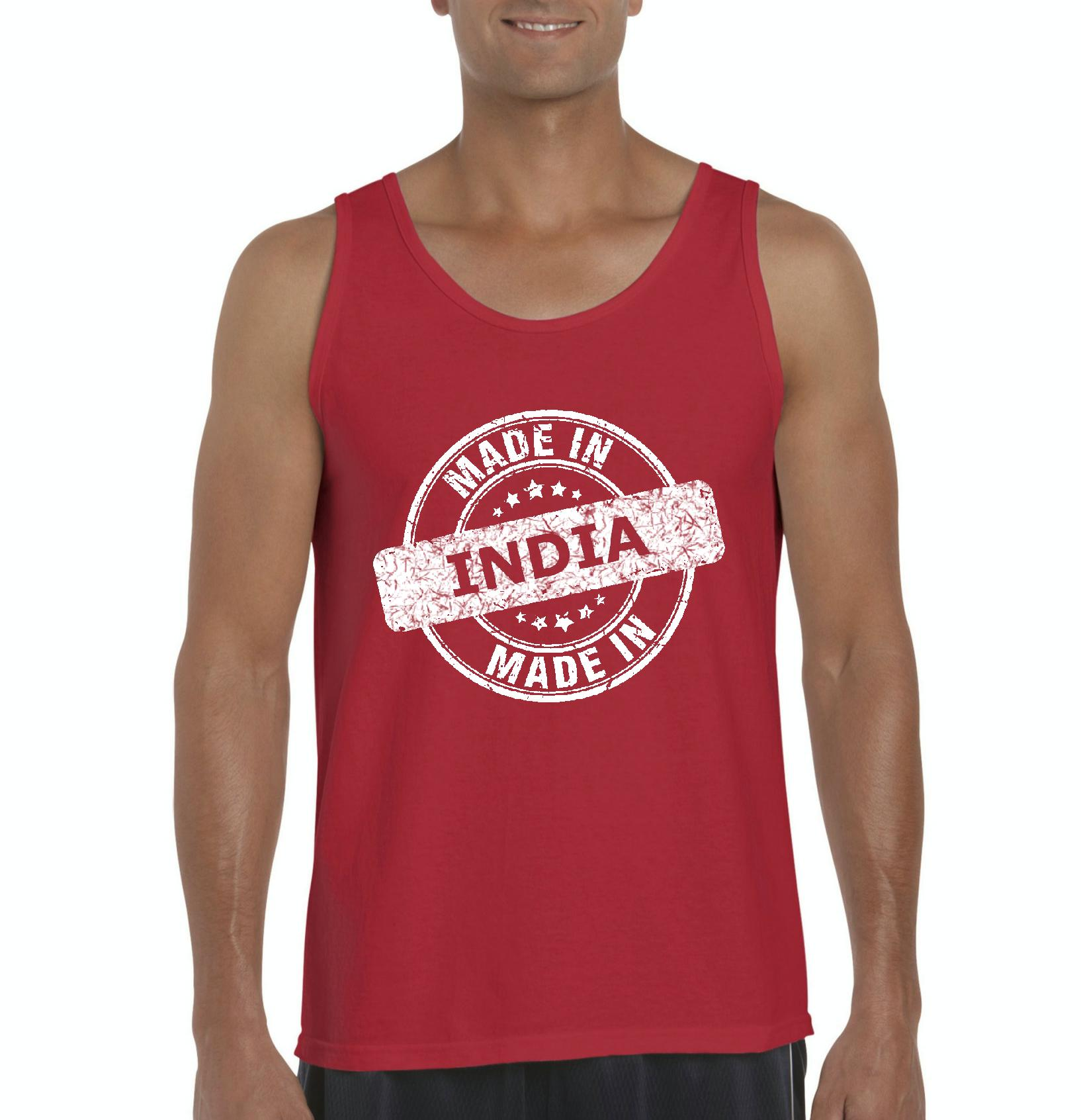 India Made in India Indian Mens Tanks