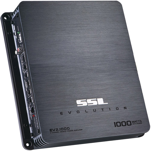 Soundstorm EV2.1000 1000W Evolution Series 2-Channel MOSFET Amplifier