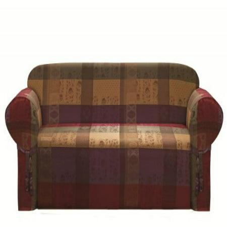 Chezmoi Collection Gitano Gold Heavy Duty Jacquard Couch