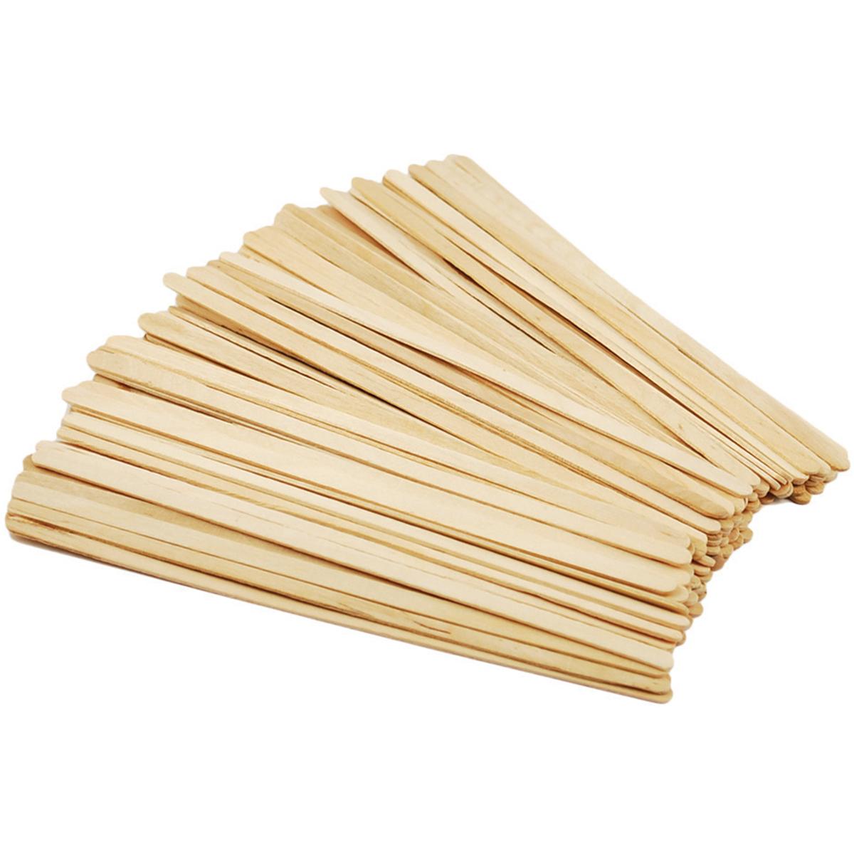 """Craft Stir Sticks-Natural 7.5"""" 80/Pkg"""