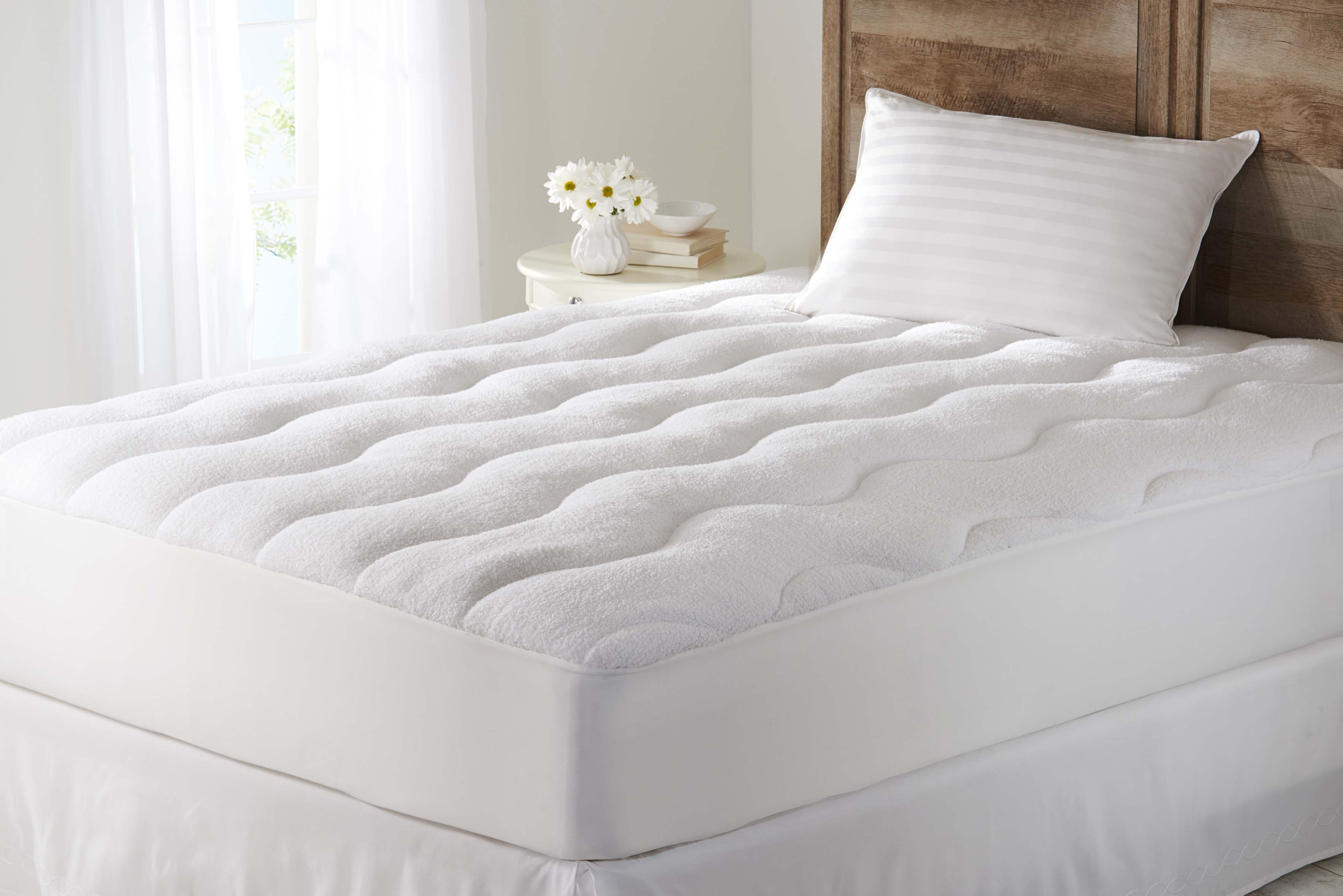 thick mattress pad. Better Homes And Gardens Year-Round Flip-Smart Mattress Extra Thick Pad, Pad