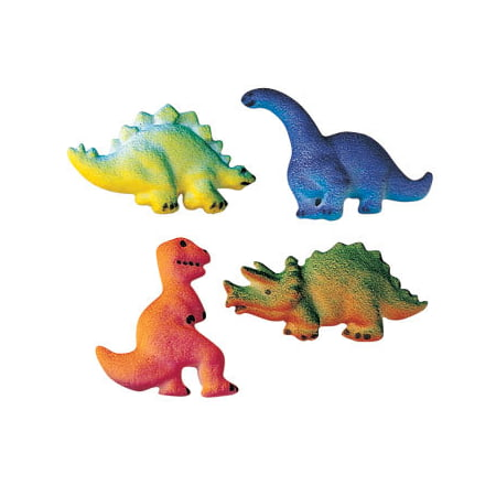 Dinosaur Sugar Decorations Toppers Cupcake Cake Cookies Birthday Favors Party 12 - Dinosaur Party Games