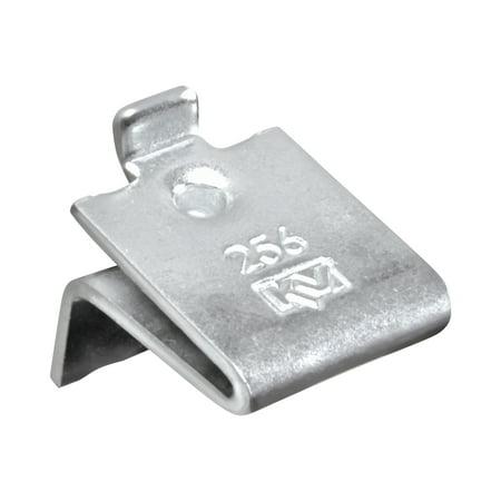 - Knape & Vogt Adjustable Steel Pilaster Shelf Support Clip, Zinc, 20 Pack