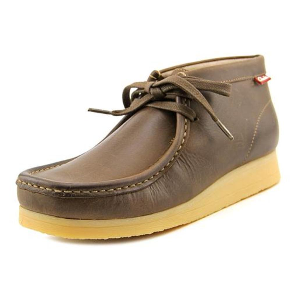 Men's Clarks Stinson Hi Moc Toe Boot - Beeswax Leather Boots