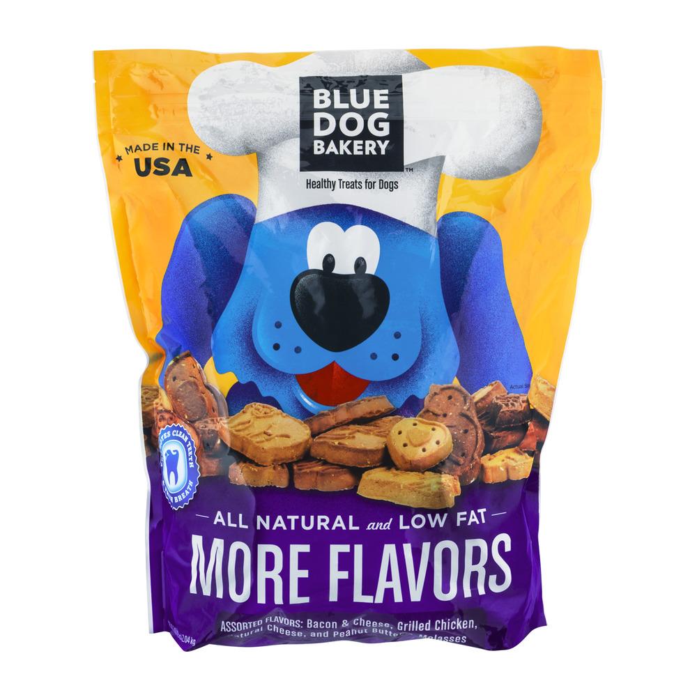 Blue Dog Bakery Assorted Healthy Dog Treats, 4.5 lb by Blue Dog Bakery