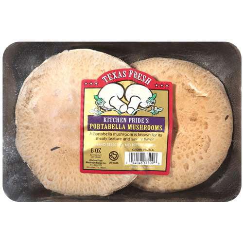 Texas Fresh Portabella Mushrooms, 6 oz