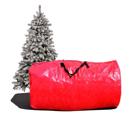 Strong Camel Large Artificial Christmas Tree Carry Storage Bag Holiday Clean Up 8' Red
