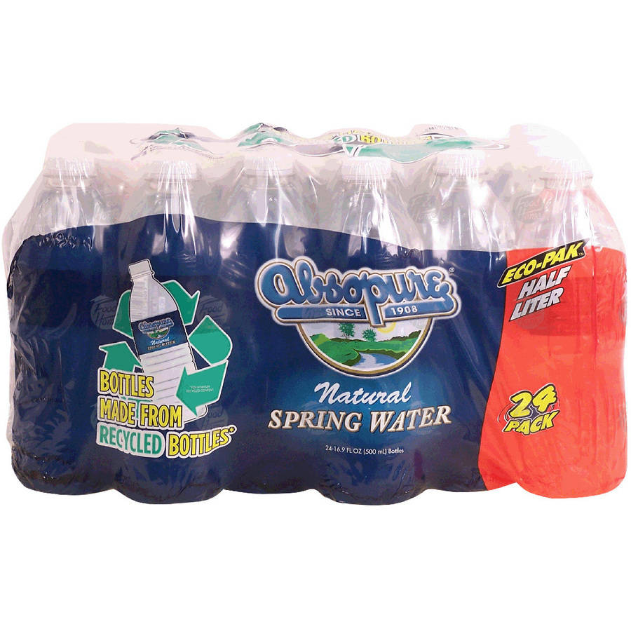 Absopure Natural Spring Water, 16.9 fl oz, 24 pack by