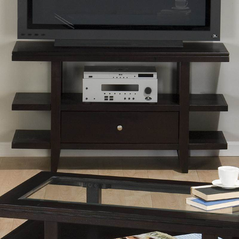 Media Unit with Drawer and Shelf