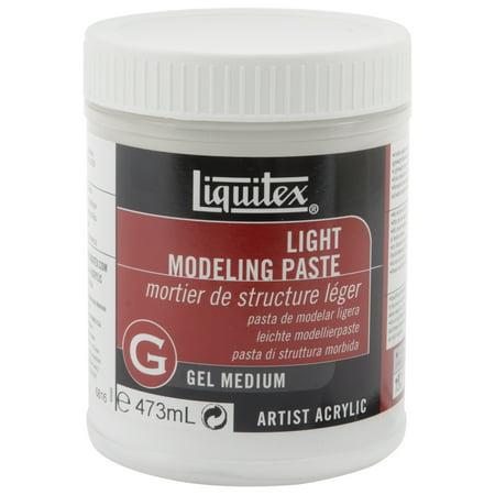 Liquitex Light Modeling Paste Acrylic Gel Medium, 16 oz