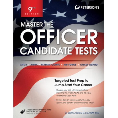 Master the Officer Candidate Tests - eBook