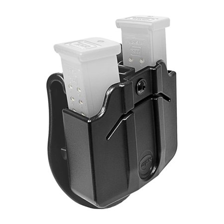 Orpaz Magazine Holster / Magazine Pouch with Paddle Attachment, Fits 2x Double Stack PLASTIC/POLYMER