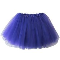Tutu Skirt for Kids - Ballet Basic Tutu for Toddler or Little Girl, 3-Layer Tulle Chiffon, Ballet Recital Dress, Princess Party Outfit, Halloween Costume