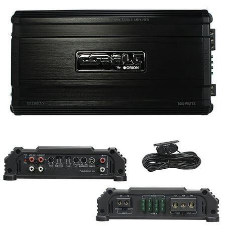 Orion Cobalt D Class Amplifier 2500 Watts Max @ 1 - Soho Amplifier