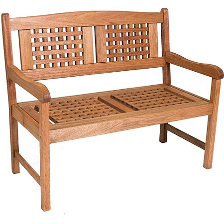 Portoreal FSC Eucalyptus Wood Outdoor Bench