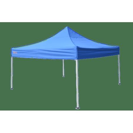 Schild Technik 10'x10' Commercial-Grade Instant Canopy Tent, Blue / Gray Steel
