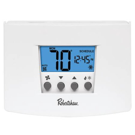 Cool Thermostat (rs4110 non-programmable thermostat, 1 heat/1 cool, 24-volt ac with battery backup or 3-volt dc )