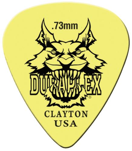 Clayton Duraplex Guitar Picks Standard .73MM (12)