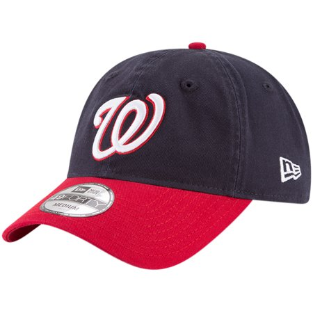 Washington Nationals New Era Core Fit Replica 49FORTY Fitted Hat - Navy