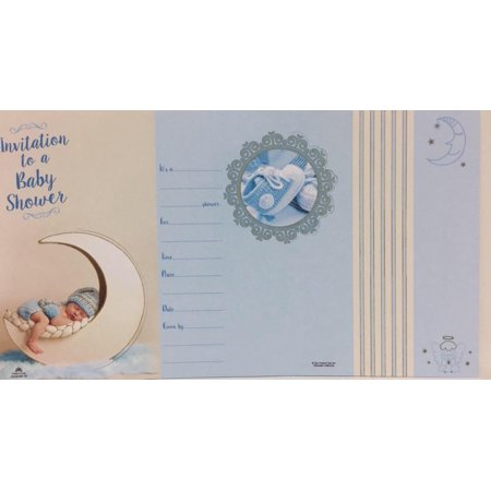 Baby Shower Invitations Baby Boy on Moon Mommy to Be Invites 8 Ct](Mommys Boy)