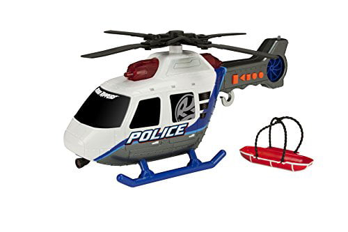 "Toy State 14"" Rush And Rescue Police And Fire Police Helicopter by Toy State"