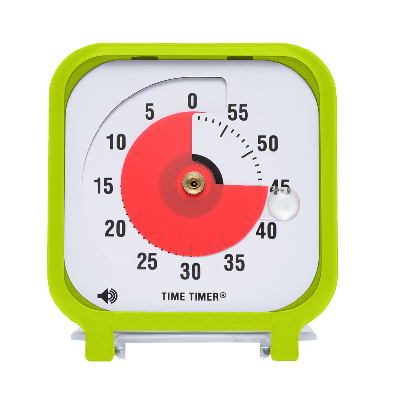 TIME TIMER 3IN LIME GREEN