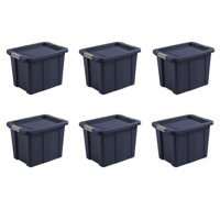 Deals on 6-Pack Sterilite 18 Gal./68 L Latching Tuff1 Tote